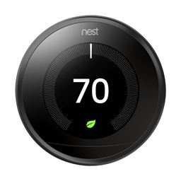 Nest Thermostat Wifi Learning 3rd Generation T3016US Black