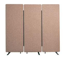 Luxor 3 Pack Reclaim Acoustic Room Dividers -  Desert Sand