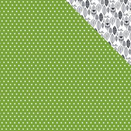 Bella Blvd Oh My Stars Collection 12 X 12 Double Sided Paper Guacamole Stars