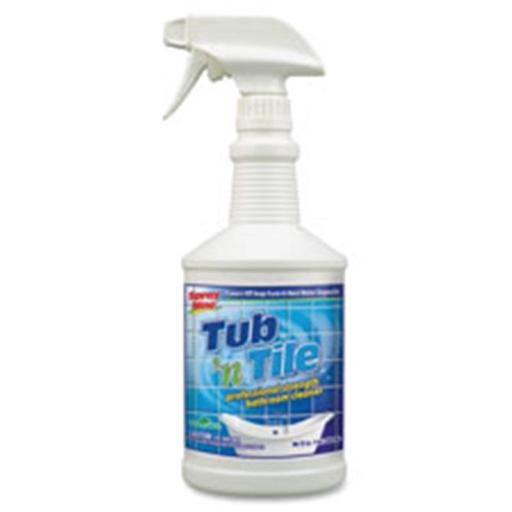 Itw Permatex Inc PTX27532 Tub-Tile Cleaner- Ecological- 32oz- Lemon-Lime Scent