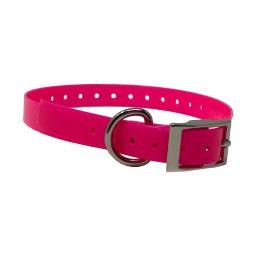 The buzzard's roost buzz-34collar-pk pink the buzzard's roost replacement collar strap 3/4 pink 3/4 x 24