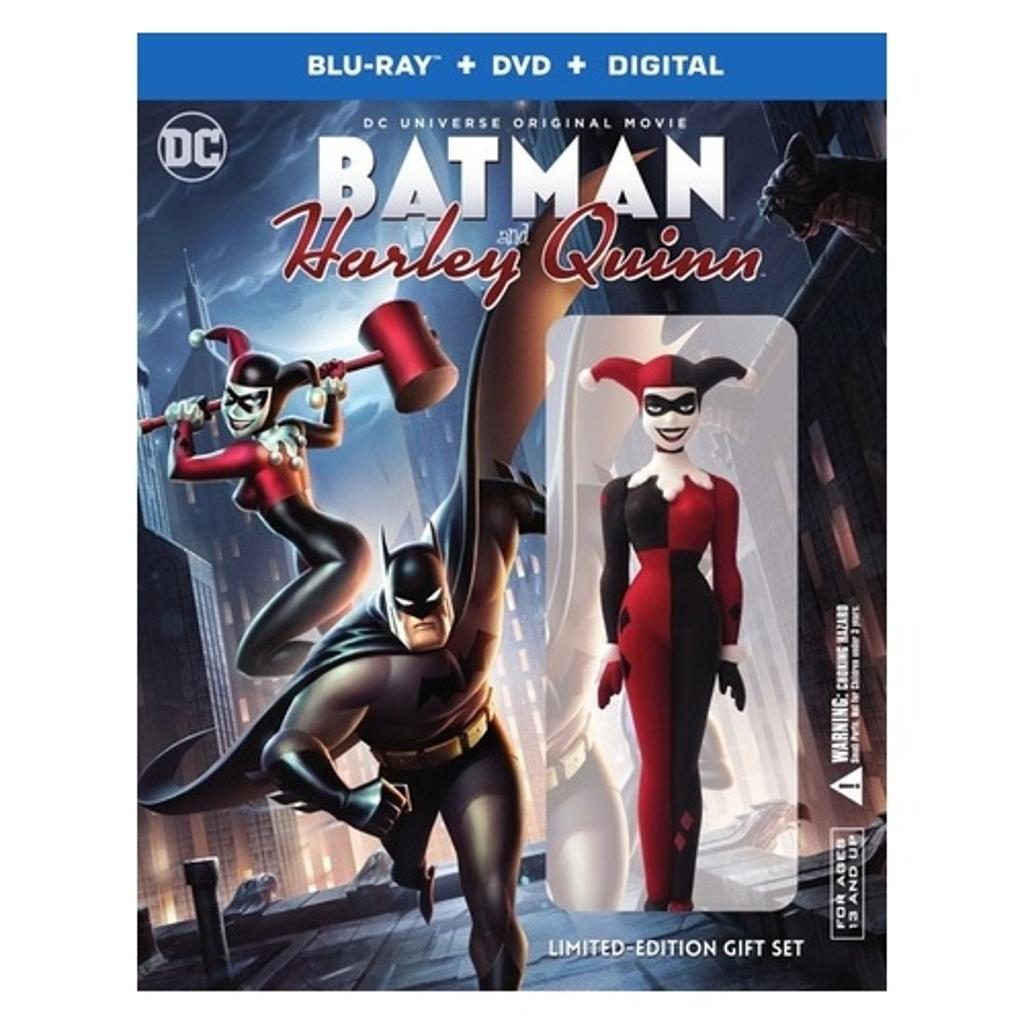 ab0356dbee3a WARNER HOME VIDEO Dcu-batman   harley quinn (blu-ray dvd digital hd ...