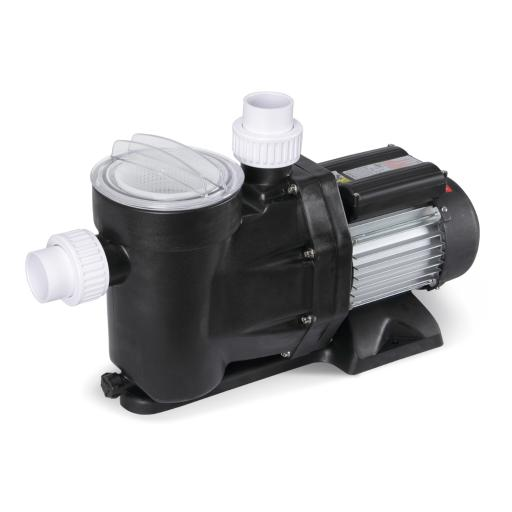 ARKSEN Above Ground Swimming Pool Filter Electric Water Pump 1.5Hp 110-120V, Black