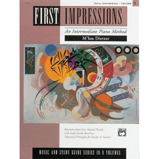 Alfred 00-16880 First Impressions- Music and Study Guides- Volume C - Music Book