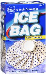 """Cara English Ice Bag , 6"""" - Each, Pack Of 4"""