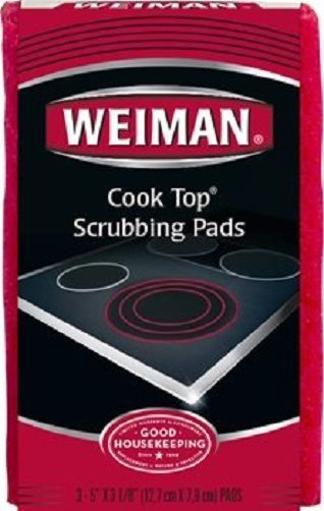 Weiman Cook Top Scrubbing Pads 3-Count Now $1.49
