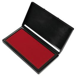 Microgel Stamp Pad For 2000 Plus 3 1/8 X 6 1/6 Red   Total Quantity: 1