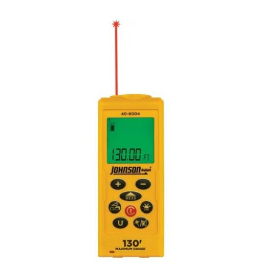 Johnson Level 40-6004 130 ft. Laser Distance Measure