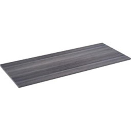 Lorell LLR16203 Relevance Series Charcoal Laminate Furniture, Charcoal Gray - 47.6 x 23.6 x 1 in.