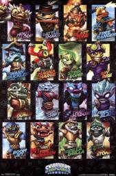 Skylanders Swap Force -Swappables Poster Print TIARP13248