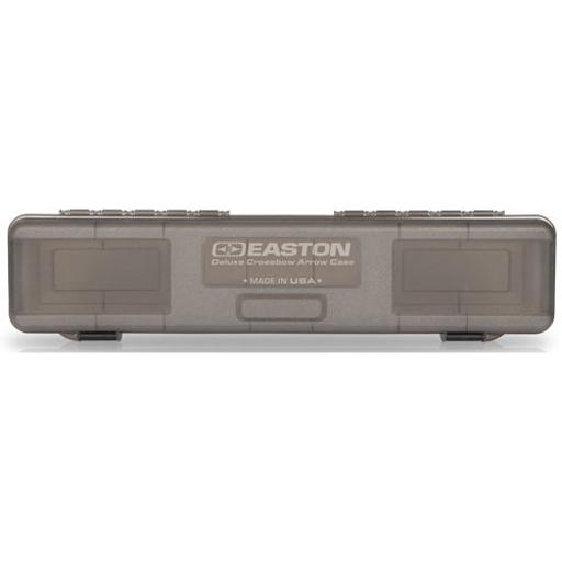 EASTON 925322 EASTON DELUXE CROSSBOW BOLT BOX HOLDS 12 XBOW BOLTS GREY