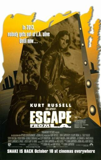 Escape From L.A. Movie Poster (11 x 17) QMG5AJOWZJFDYV64