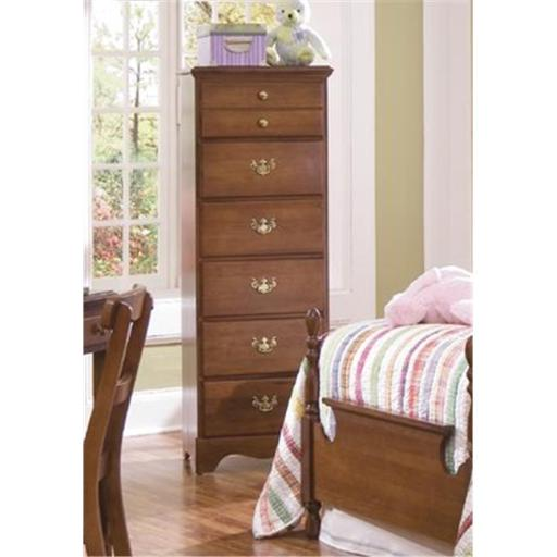 Common Sense Six Lingerie Chest Of Drawer In Traditional Cherry