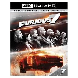 Furious 7 (blu ray/4kuhd/ultraviolet/digital hd BR61184887