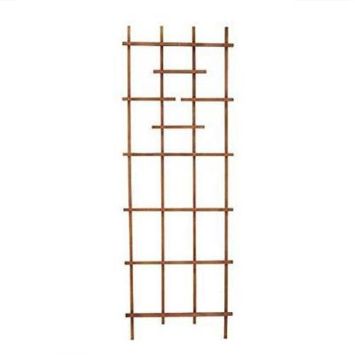 Panacea Products 213686 72 in. Wooden Ladder Trellis, Brown