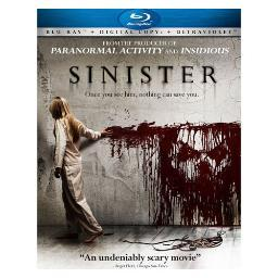 Sinister (blu ray) (ws/eng 5.1 dol/2.35:1) BR66125417