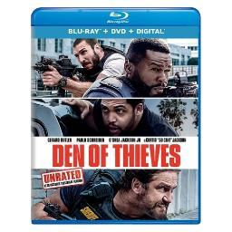 Den of thieves (blu ray/dvd w/digital) BR64188809