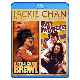 Battle creek brawl/city hunter (blu ray) (jackie chan) (ws) BRSF14160