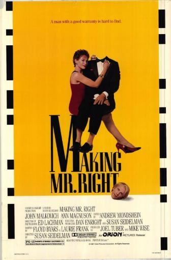 Making Mr. Right Movie Poster (11 x 17) ZE1QSUAI8XMYD8AT