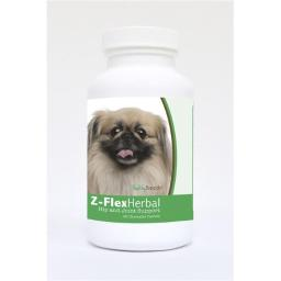 Healthy Breeds 840235123804 Pekingese Natural Joint Support Chewable Tablets - 60 Count
