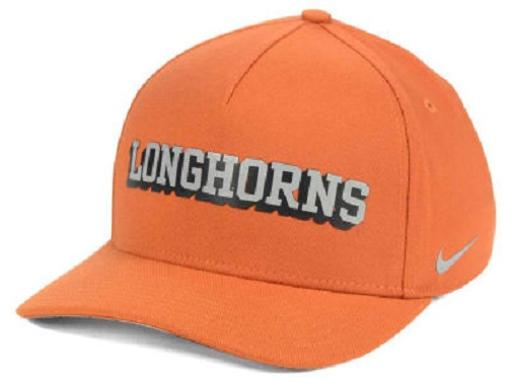 Texas Longhorns NCAA Nike Local Dri-Fit Swoosh Flex Fitted Hat