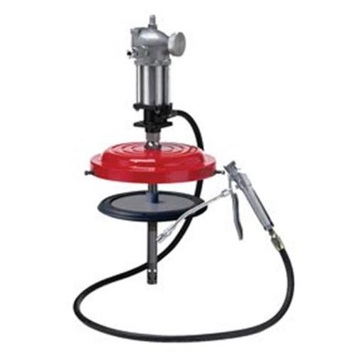 Air Operated High Pressure Grease Pump For 25 To 50 Lbs. Drums