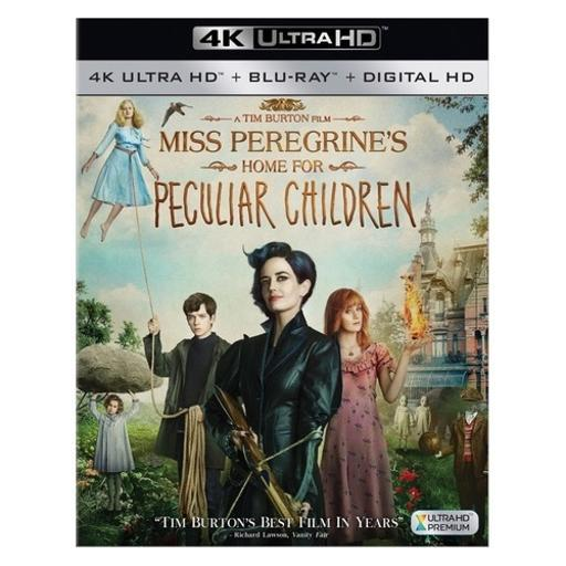 Miss peregrines home for peculiar children (blu-ray/4k-uhd/dhd) A0CDXLGZBDT2NPQM