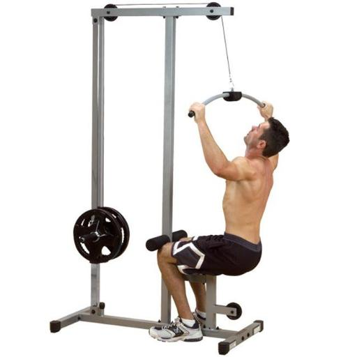 Powerline Lat Pulldown Machine with Low Row