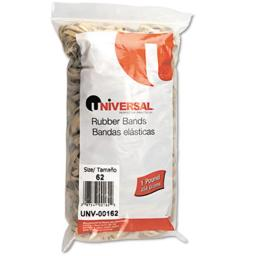 Universal 00162 Rubber Bands, Size 62, 2.5 x .25, 490 Bands-1lb Pack