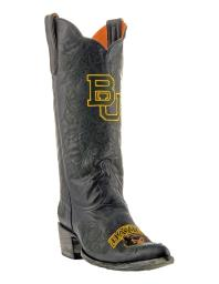 Gameday Boots Womens College Team Baylor Bears Black Gold BAY-L034-1 BAY-L034-1