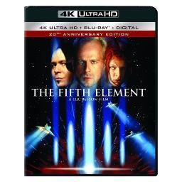 Fifth element (blu ray/4kuhd/ultraviolet/digital hd) BR49691