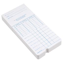 Yescom 200 Count Weekly Time Clock Cards Timecard for Employee Attendance Payroll Recorder