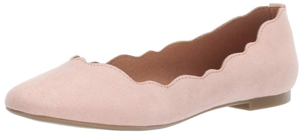 Athena Alexander Womens Avon Suede Closed Toe Ballet Flats