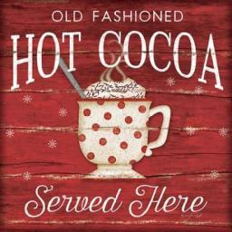 Hot Cocoa Served Here Poster Print by  Jennifer Pugh PDXJP5153SMALL