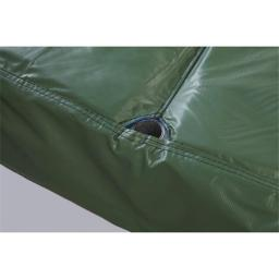 Bazoongi PAD15JP6-10G 15 ft. Safety Pad for 6 Poles 10 in. Wide PVC, Green