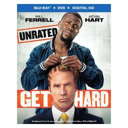 GET HARD (BLU-RAY/DVD/ULTRA VIOLET/HD/UNRATED/2 DISC) 883929426805