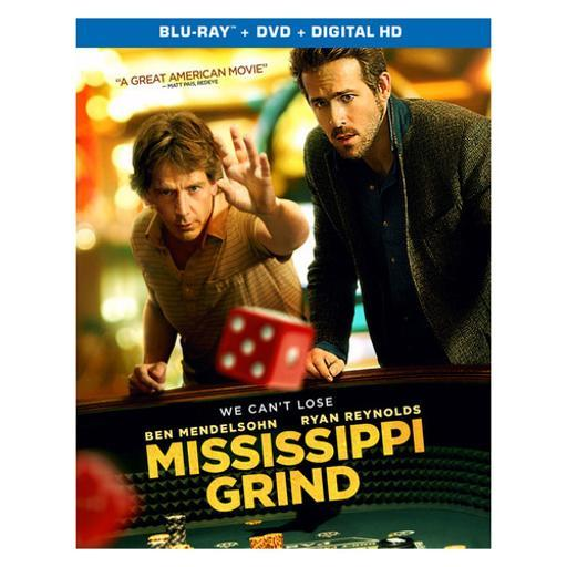 Mississippi grind (blu ray w/dig hd)(ws/eng/eng sub/span sub/eng sdh/5.1dts 1306258