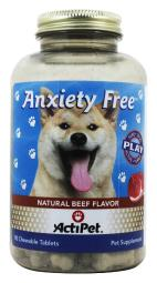 ActiPet - Anxiety Free For Dogs - 90 Chewable Tablets