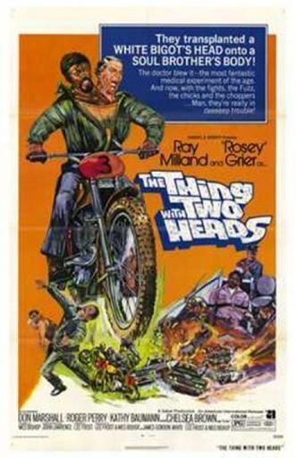The Thing with Two Heads Movie Poster (11 x 17) ZUDAQMTOPEDRF9PC