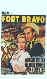 Escape from Fort Bravo Movie Poster (11 x 17) MOV412542