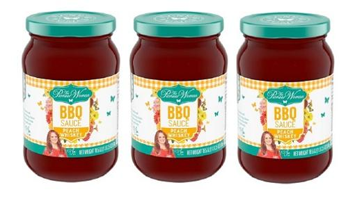 The Pioneer Woman BBQ Sauce Peach Whiskey 3 Pack
