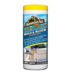Armorall marine and watersports armor all mold & mildew remover wipes 12830