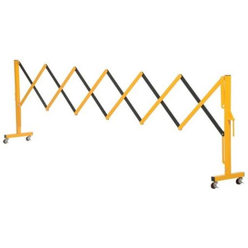 Aluminium Expandable Safety Gate with Casters VAJ8SPW9LIW6MPHT