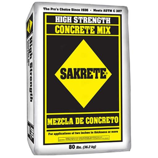 Sakrete 65200390 80 lbs. Concrete Mix