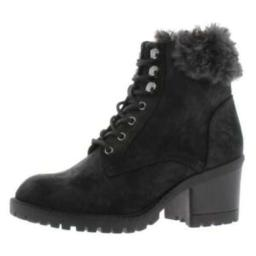 Cliffs by White Mountain Womens Tori Fabric Closed Toe Ankle Fashion Boots