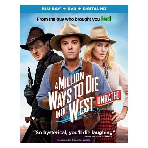 Million ways to die in the west (blu ray/dvd w/digital hd/ultraviolet) RVRQBTLL4BVBCAYE
