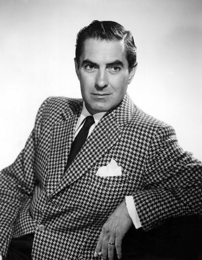 Tyrone Power At The Time Of The Stage Production Dark Is Light Enough In The 1950S Photo Print