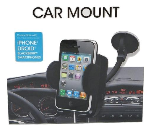 iWorld Universal Smartphone Windshield Car Mount for iPhone Android