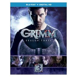 GRIMM-SEASON THREE (BLU RAY W/ULTRAVIOLET) (5DISCS) 25192208775