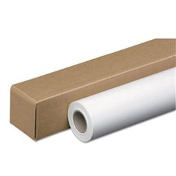 Accufax  46124 Wide-Format Inkjet Paper Roll, 48 lbs., 2 in. Core, 24 in. x 100 ft, White, Amerigo